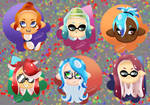 Squid and Octo Icons by SonicForTheWin2