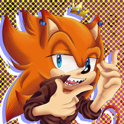 Orange Mess by SonicForTheWin2