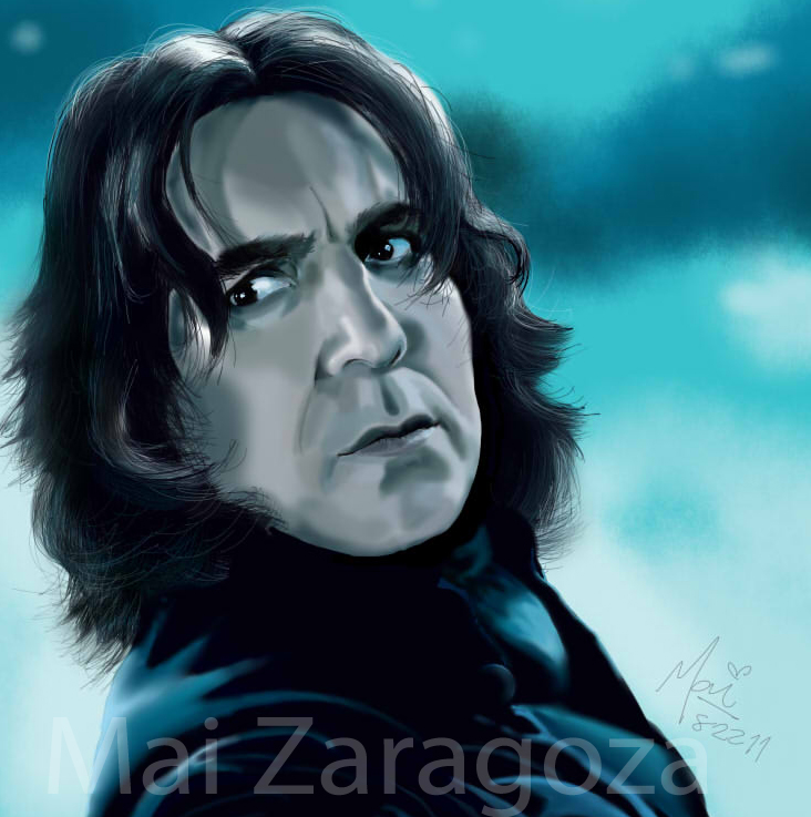 Snape Snape Severus Snape by amused-mai