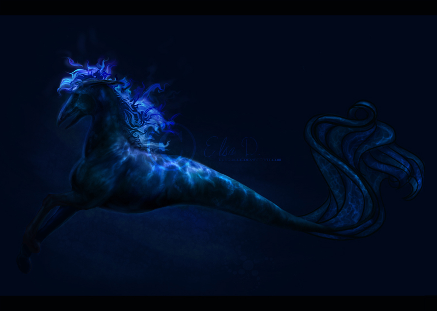Seather, the Sea Monster by Elsouille