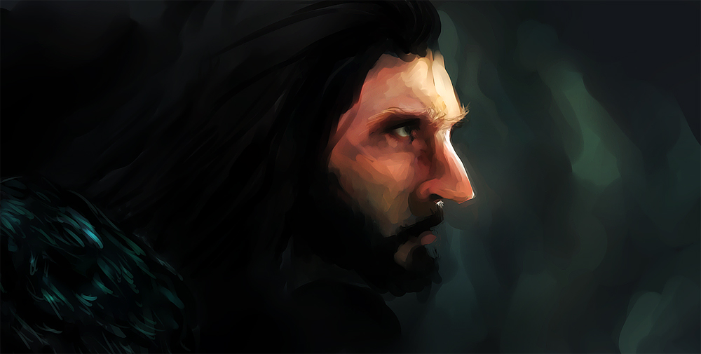Thorin Sketch by Elsouille