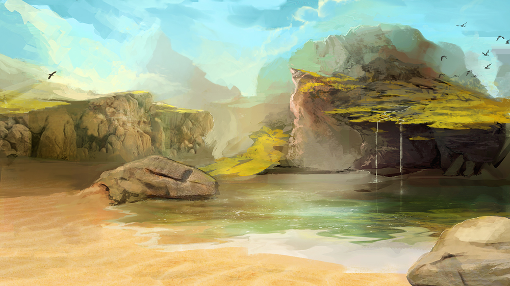 digital paintings scenery - photo #39