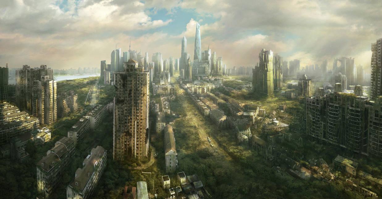 Shanghai Ruins by JonasDeRo