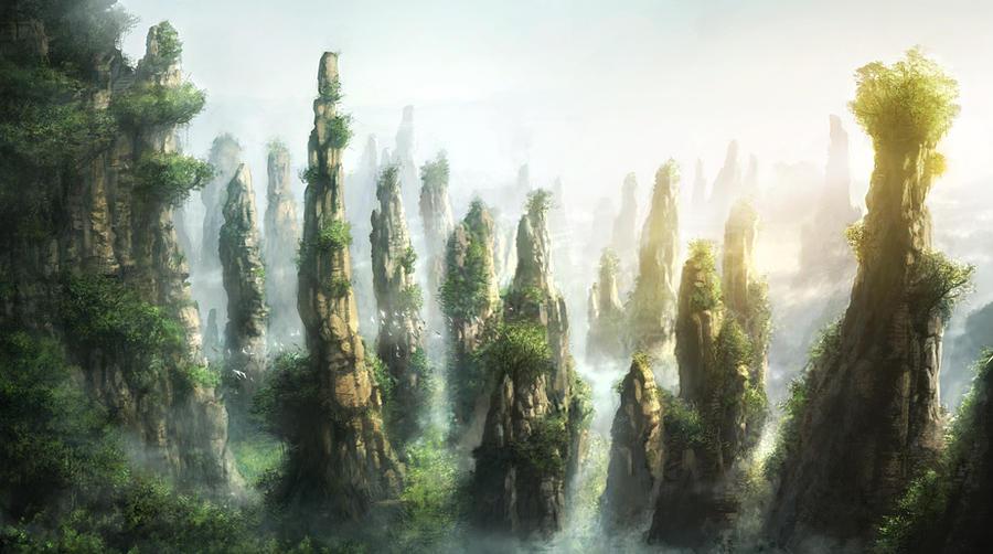 The Spire Fields by JonasDeRo