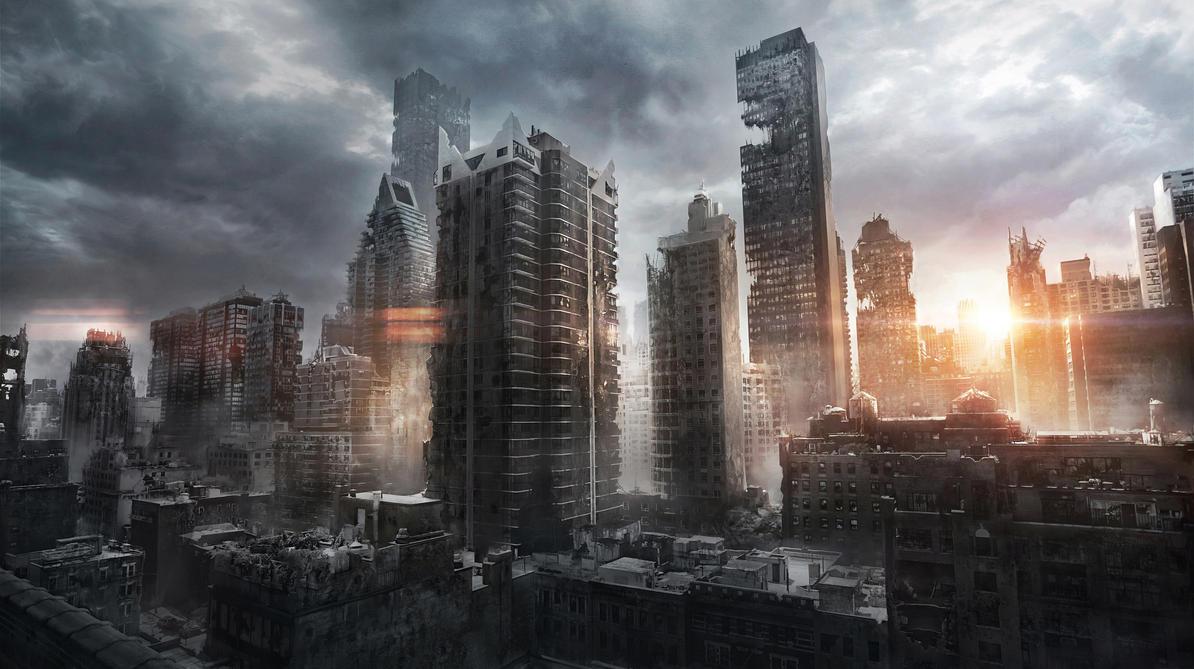 New York Ruins by JonasDeRo