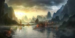 Temple Lagoon
