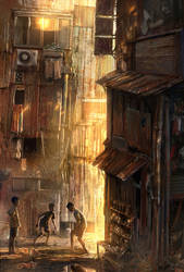 Slumdogs by JonasDeRo
