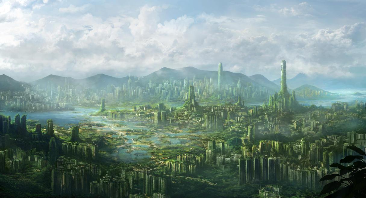 Hong Kong Ruins by JonasDeRo