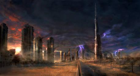 Dubai Ruins 2 by JonasDeRo