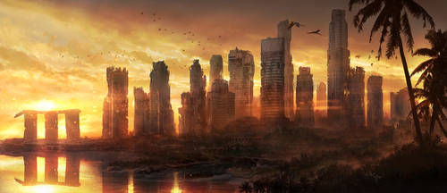 Singapore Ruins by JonasDeRo