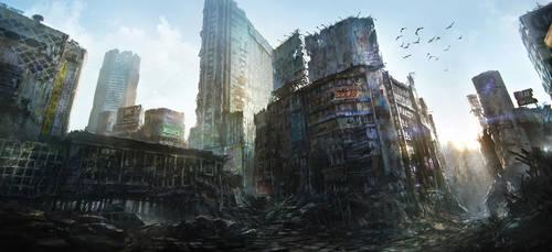 Tokyo Ruins by JonasDeRo