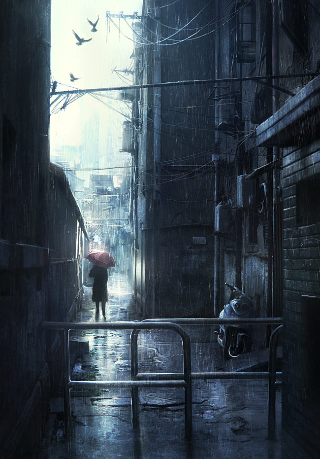 Rain by JonasDeRo