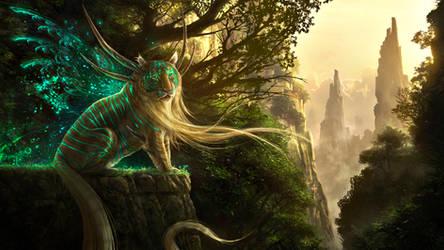 God Of Evanescence by JonasDeRo