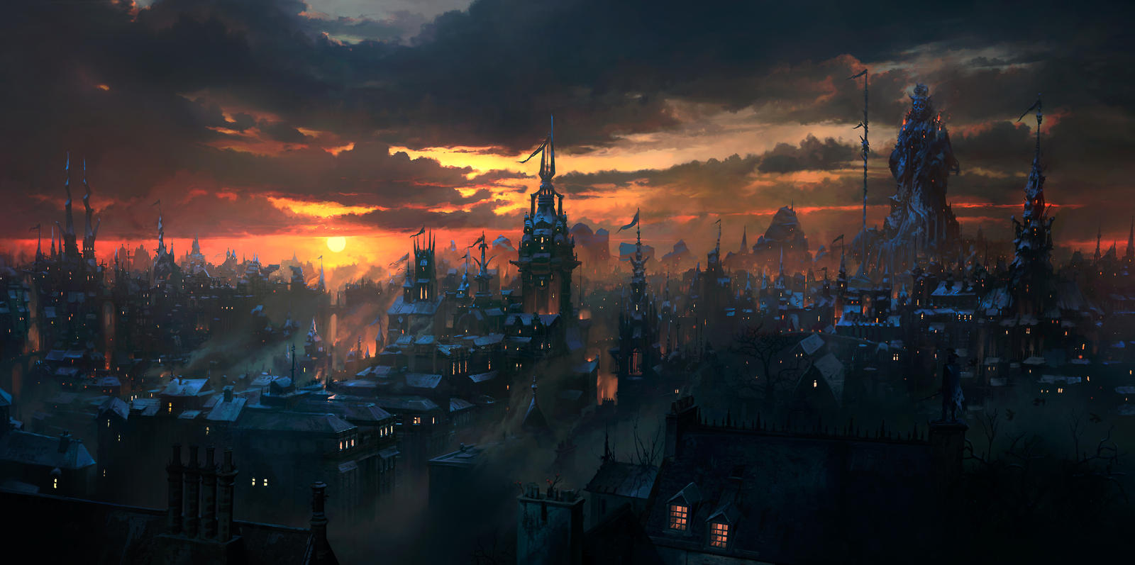 Volsinii City by JonasDeRo