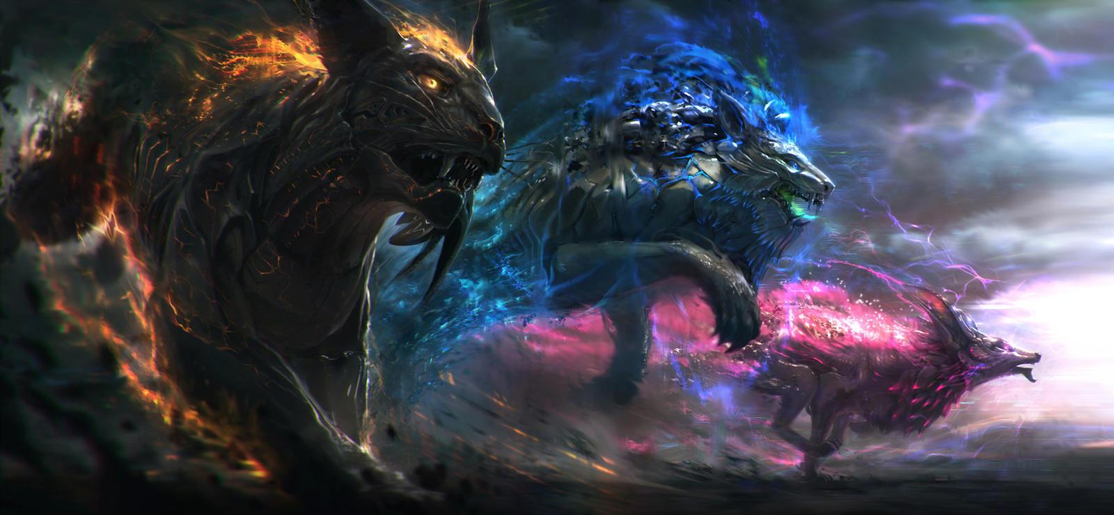 Gods Of Sound by JonasDeRo