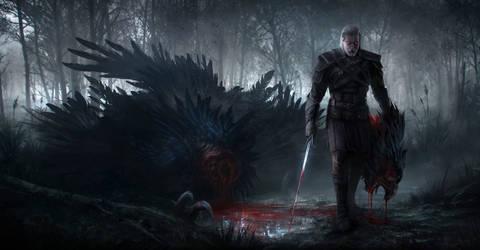 The Witcher by JonasDeRo
