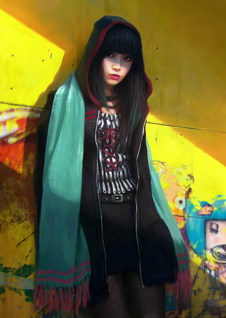 Little Black Riding Hood by JonasDeRo