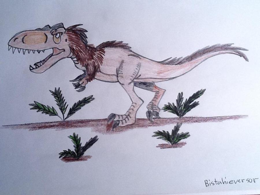 Bistahieversor (Full body) by DinoBirdMan