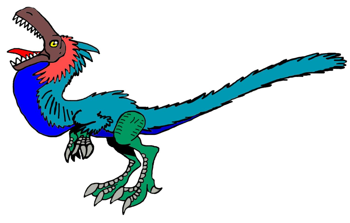 All Yesterday's work: Courtship Segisaurus by DinoBirdMan