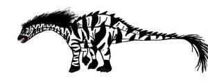 All Yesterday's work: Zebra-saurus