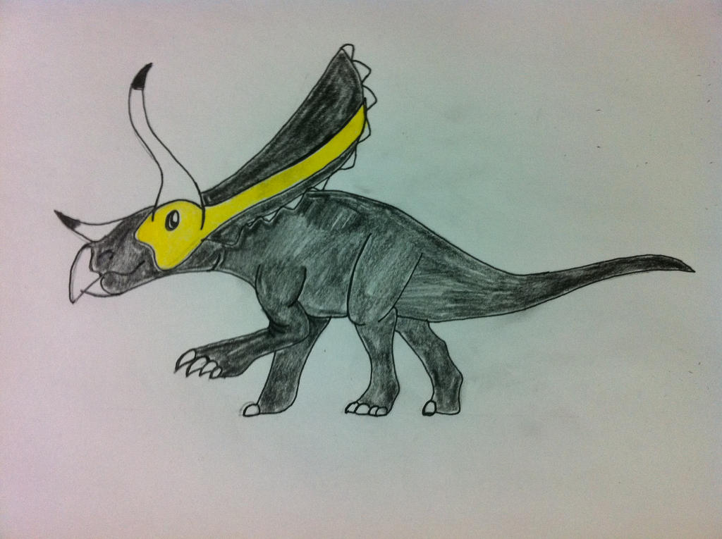 Excalibursaurus The Triceratops: TDC Contest By