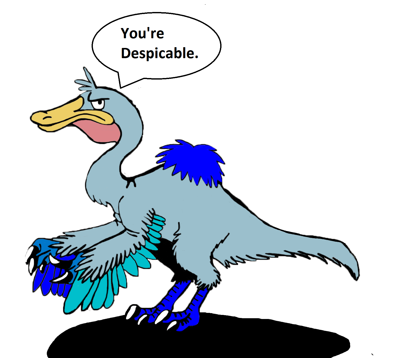daffy_the_deinocheirus_by_dinobirdman-d7hg2hm.png