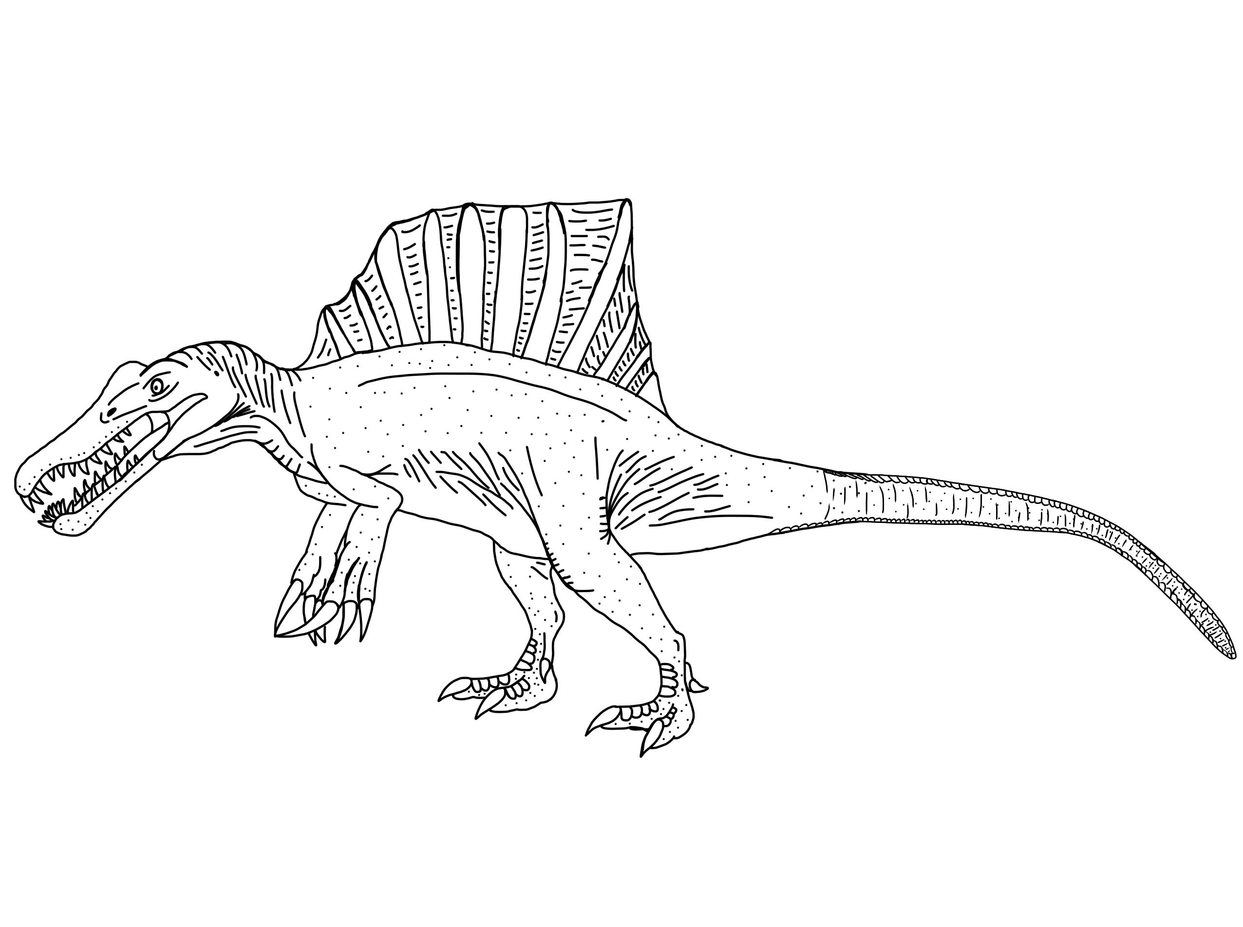 Spinosaurus 2014/2015 (Updated) by DinoBirdMan on DeviantArt