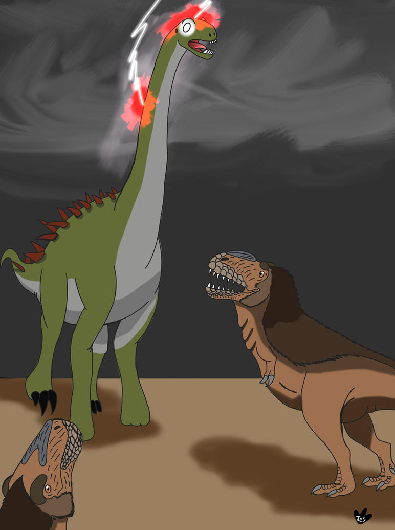 The lost art of Dinovember  by DinoBirdMan