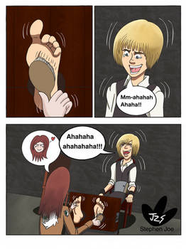 Armin Tickled roleplay comic 7