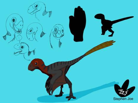 Dino Kids - Epidexipteryx hui