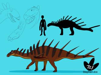 Dino kids - Kentrosaurus aethiopicus