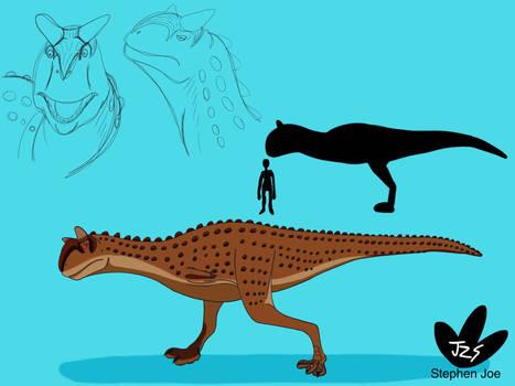 Dino Kids - Carnotaurus sastrei