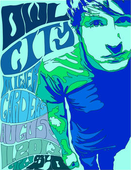 Owl City Fillmoer Poster (Solid)