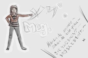 Meg. by em-ayjay