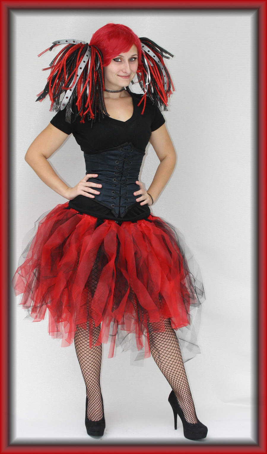 Harley Quinn Inspired TUTU by PrimmRose