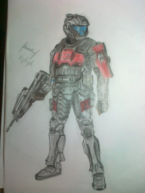 ODST CQC trooper - Halo by Nics-MP