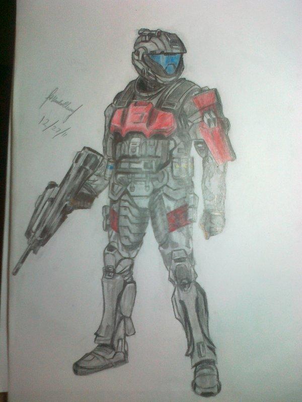 ODST CQC trooper - Halo by Nics-MP