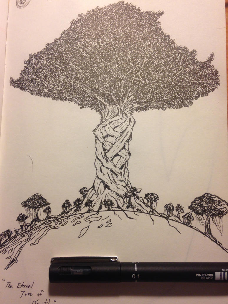 The Eternal Tree of Life by Nics-MP
