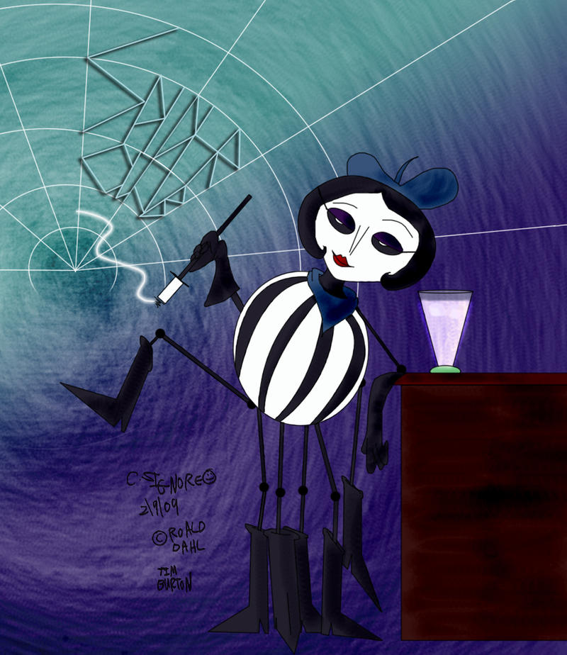 james and the giant peach miss spider book - photo #22