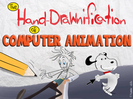 Mr Coat - HandDrawnification of Computer Animation