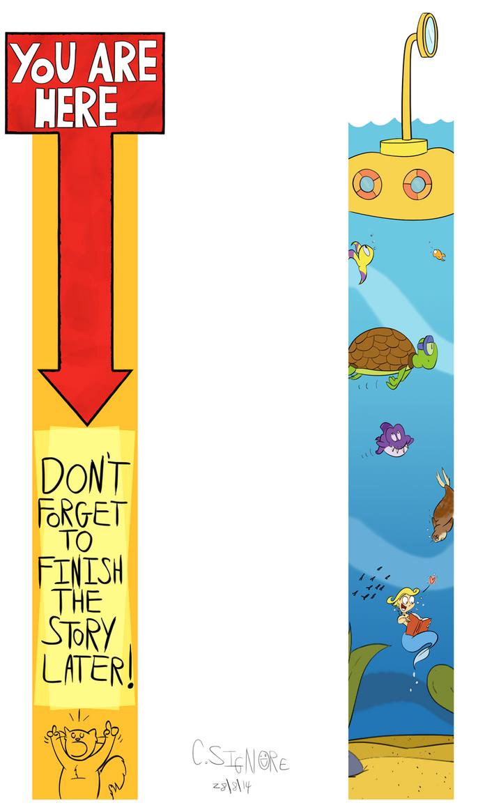 Print Not Dead 25 Creative Bookmark Designs Inspirationfeed .