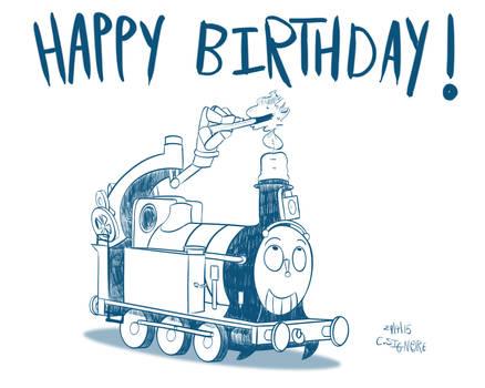 Teeny Birthday Train