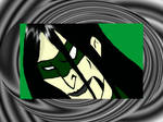 Riddler swirly face