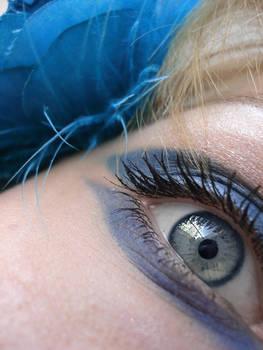 blue rose eye