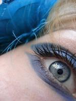 blue rose eye by ftourini-stock