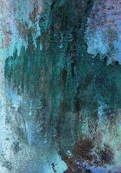 blue rusty texture