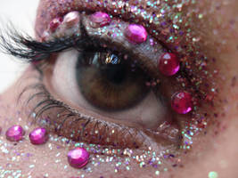 glitter eye III