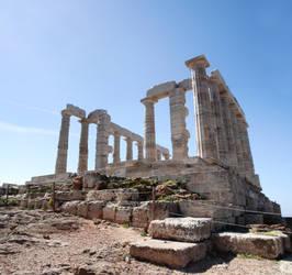 Poseidon temple panorama