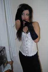 Gothic Girl2 by ftourini-stock