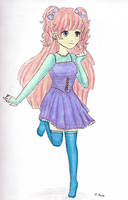 Pastel girl by Angelflares